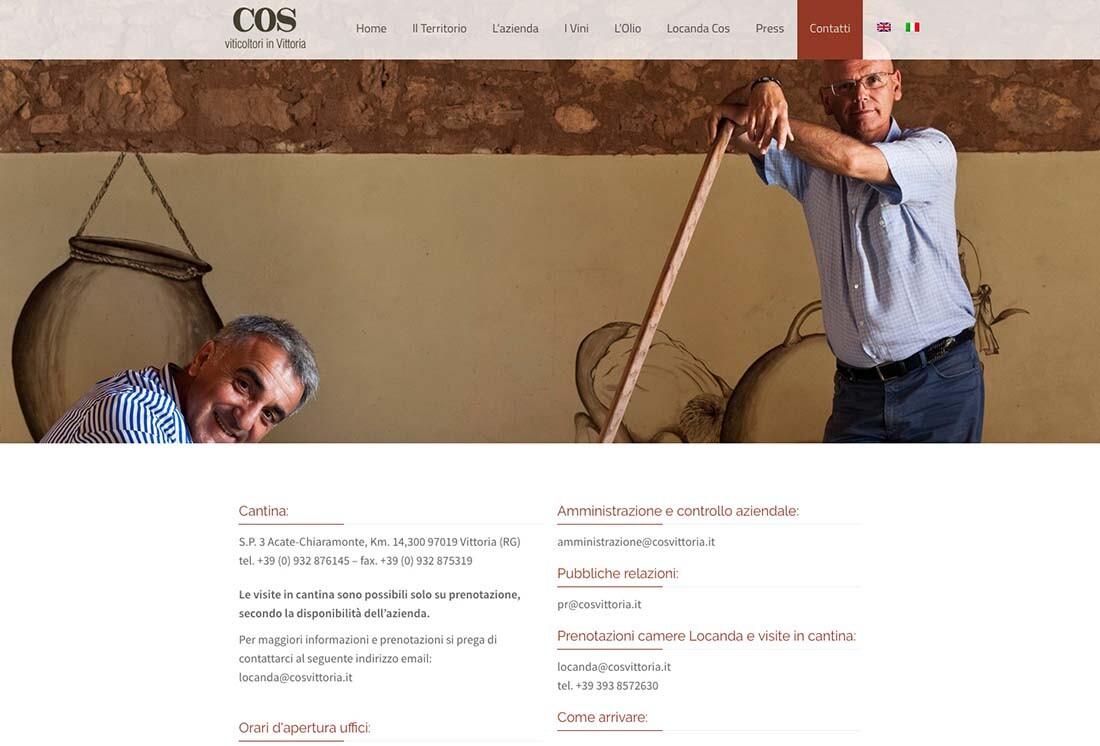 Cos - sito web - Artebit