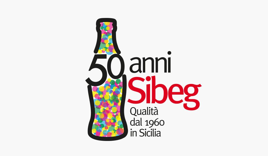 50anni sibeg - logo - artebit