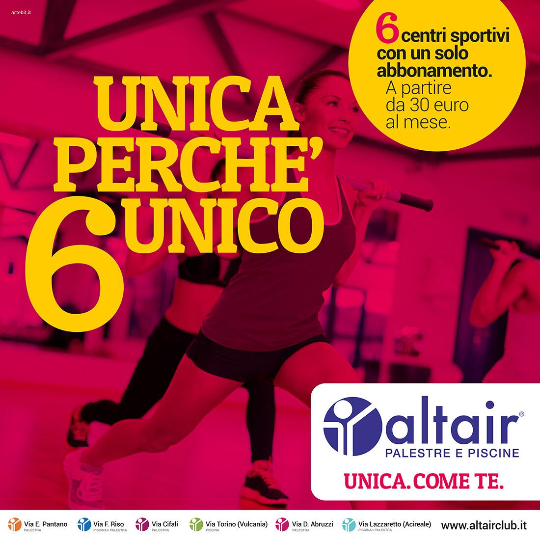 Altair - Unica perchè 6 unica - 6x6 - Artebit
