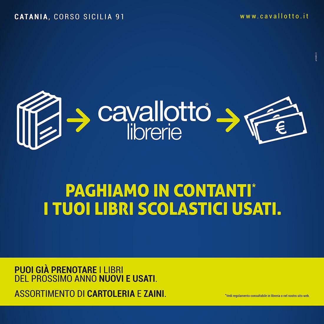 Cavallotto - Campagna Libri usati 2018 - Artebit