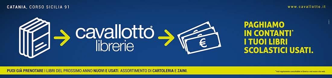 Cavallotto - Campagna Libri usati 2018 - 6x3 - Artebit