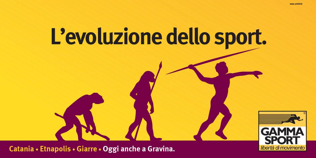 L'evoluzione dello sport - Gamma Sport -Artebit