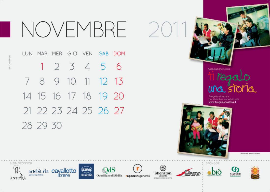Calendario AITA - Ti regalo una storia - Artebit
