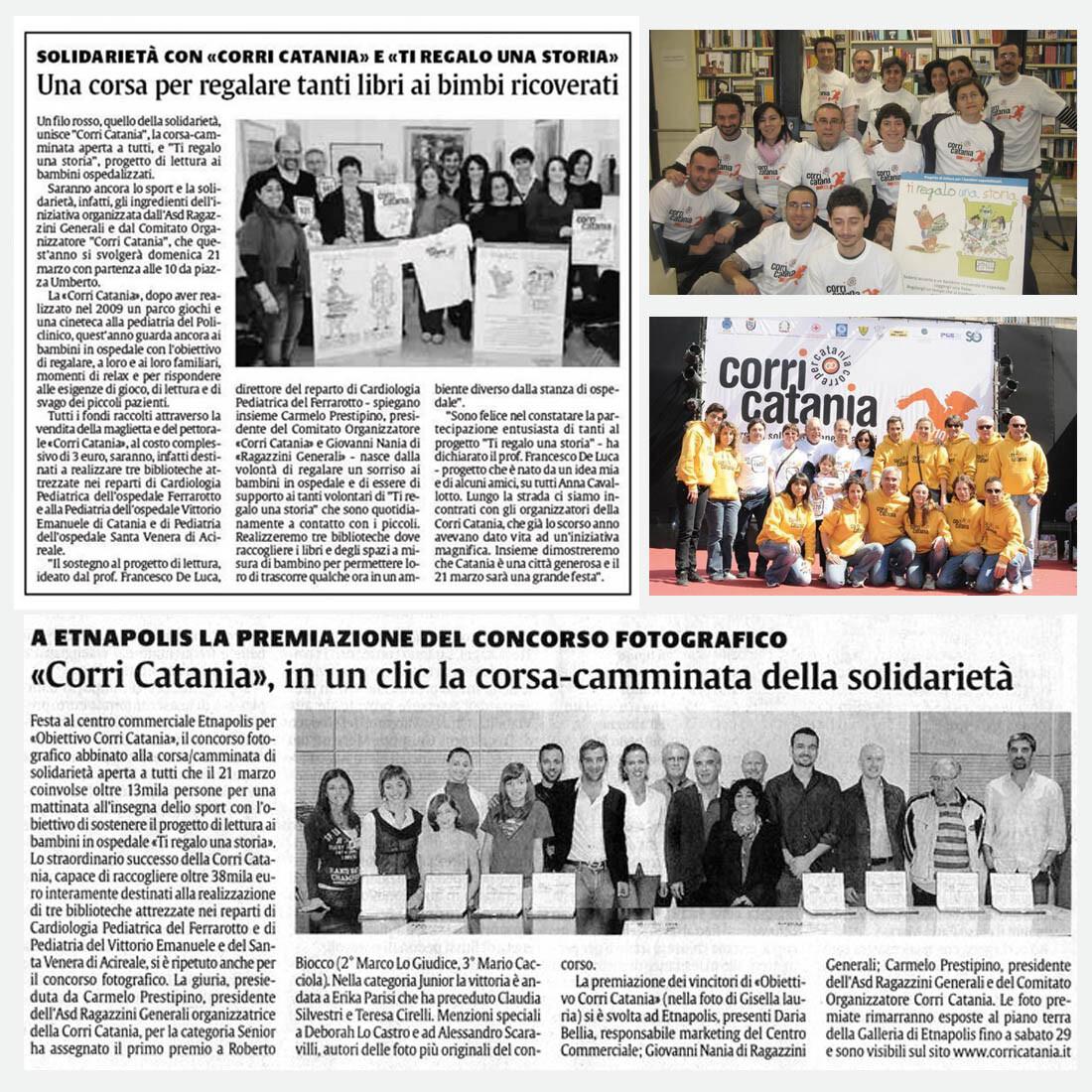 Corri Catania - Ti regalo una storia - artebit