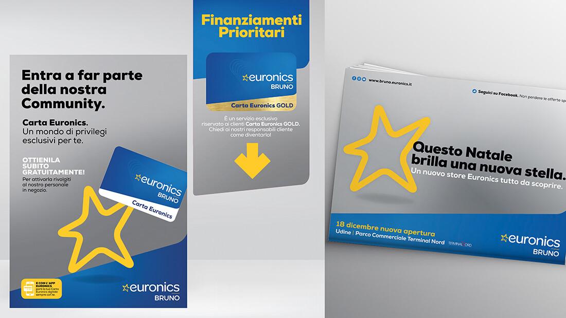 bruno euronics campagna nuova apertura udine - artebit agenzia di pubblicità